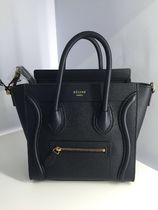 入手困難 CELINE 2WAY LUGGAGE NANO MIDNIGHT 16年秋冬新色