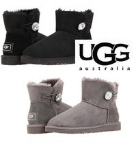 Sale!! 可愛いキラキラ☆ UGG ☆ Mini Bailey Botton BLING