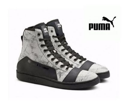 PUMA MCQ SERVE MID GRAPHIC スニーカー