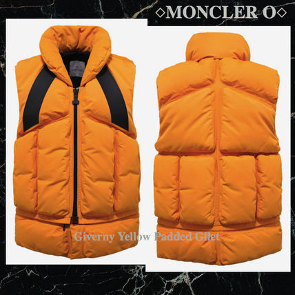 NEW! Moncler O Giverny Padded イエロージレ