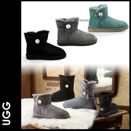 新作★【UGG】女性用/MINI Bailey Button Bling