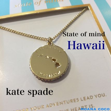 kate spade State of mind☆Hawaii☆ネックレス ゴールド 送関