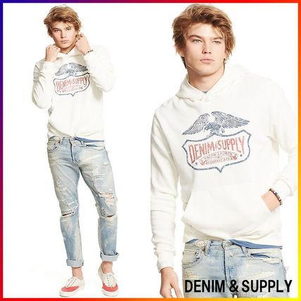 Denim&Supply☆FRENCH TERRY GRAPHIC パーカー 関税/送料込