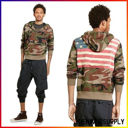 Denim&Supply☆FLAG FRENCH TERRY HOODIE 関税/送料込