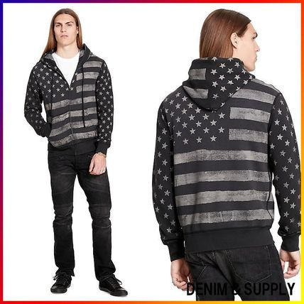 Denim&Supply☆FRENCH TERRY GRAPHIC HOODIE 関税/送料込