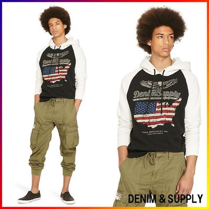 Denim&Supply☆COTTON FRENCH TERRY HOODIE 関税/送料込