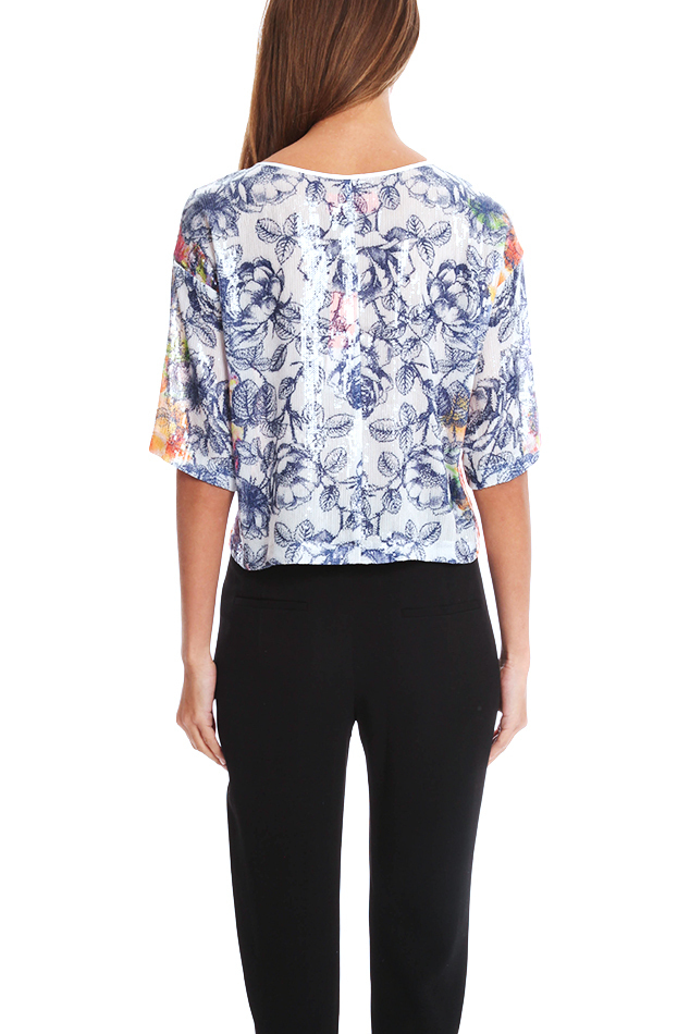 *大人気*Clover Canyon Birds Of A Feather Sequin Top