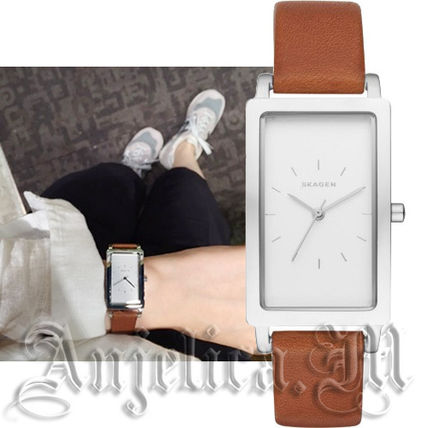 ★人気商品★SKAGEN Hagen Ladies Leather Watch SKW2464