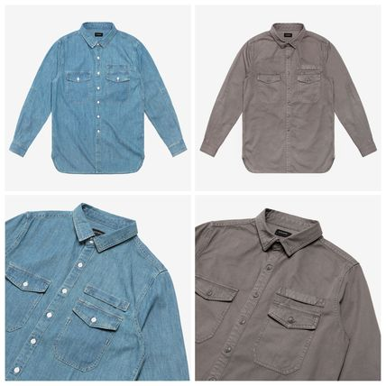 ジャスティンビーバー愛用 stampd LA WASHED DENIM WORK SHIRT