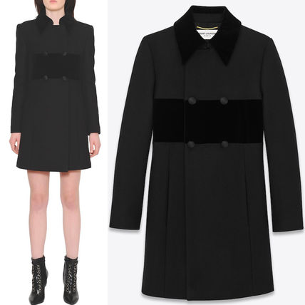 16-17AW WSL914 DOUBLE BREASTED BABYDOLL COAT