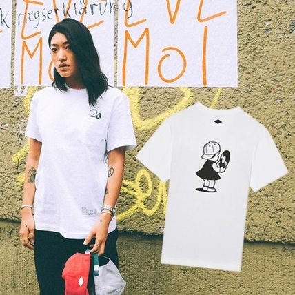 16SS!STEREO× PEGGY ★peggys s/s T S〜XL ホワイト