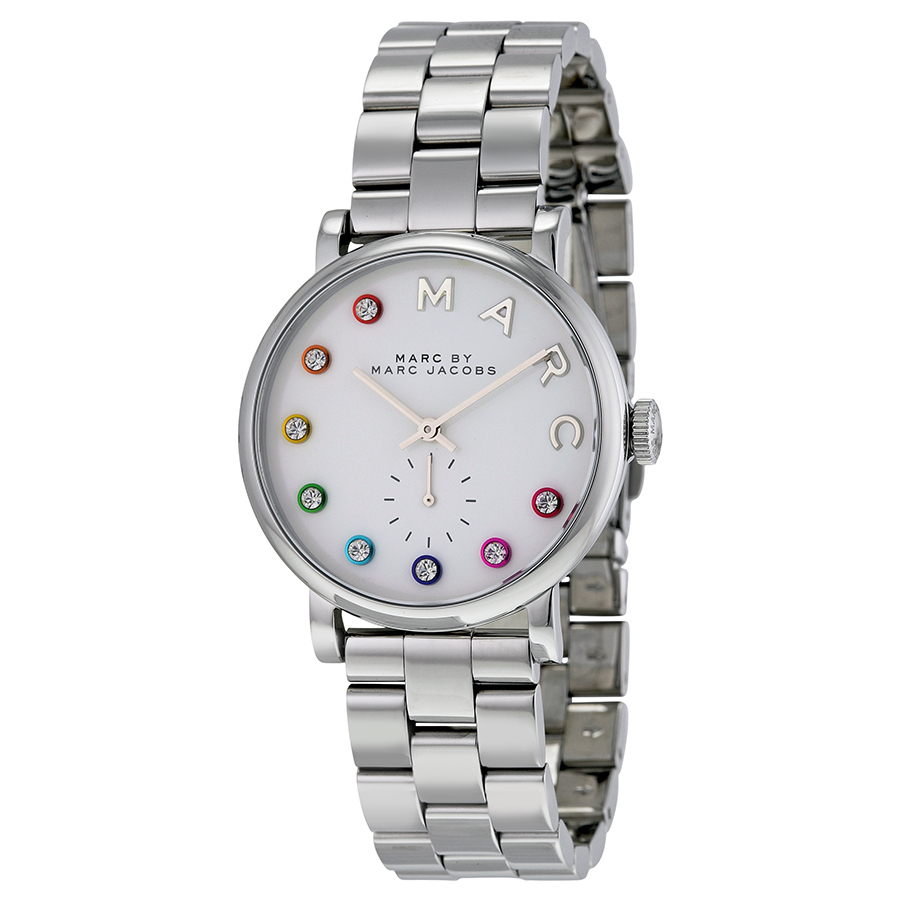 MARC BY MARC JACOBS Silver Dial Stainless Steel Watch