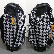 Loudmouth Golf(ラウドマウスゴルフ) ゴルフその他 Loudmouth Houndstooth Cart Bag 3.0 カート キャディバッグ