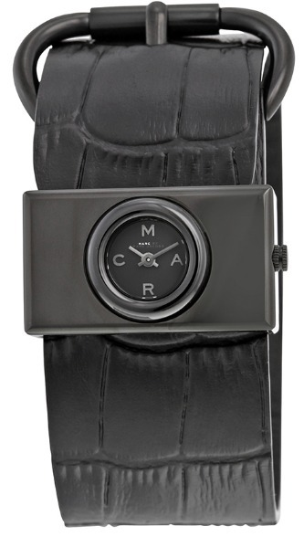 送料込み!大人気♪ Viv Black Leather Ladies Watch