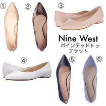 Nine West ☆セール☆Onlee Pointy Toe フラットNo.2(6色)