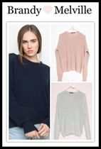 ☆新作**日本未入荷☆Brandy Melville*BRONX SWEATER