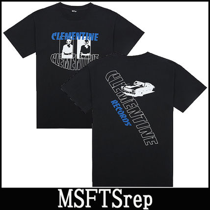 "16-17AW 新作 ""MSFTSREP"" 'Clementine Records' Tシャツ"