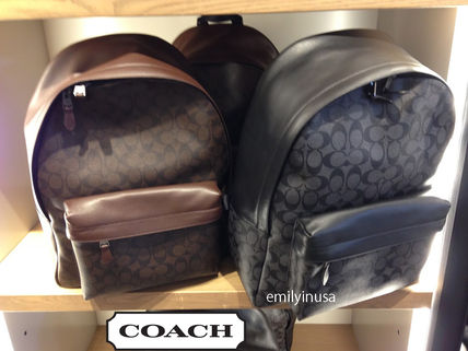 COACH popular CHARLES BACKPACK Signature F55398