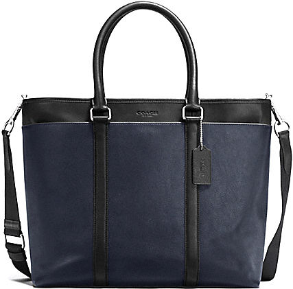 popular COACH Perry leather business tote F54758