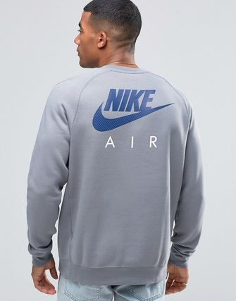 Nike Air Sweatshirt In Grey