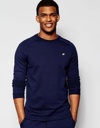 Nike Modern Crew Sweatshirt In Blue