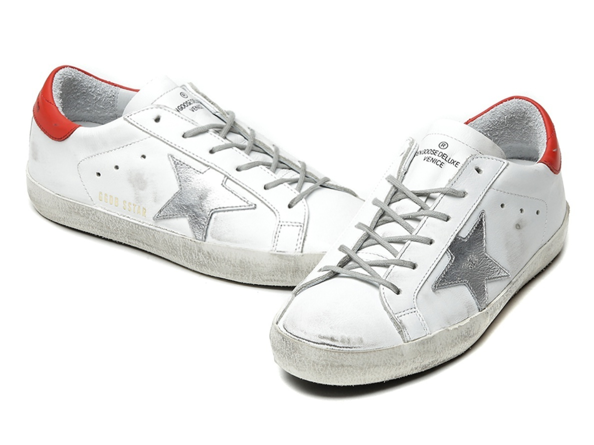 Golden Goose/正規品/EMS/送料込み16FW SUPERSTAR G29WS590 F55