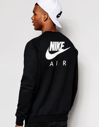 Nike Air Sweatshirt In Black
