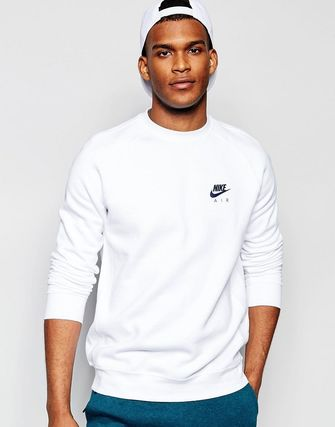 Nike Air Sweatshirt In White