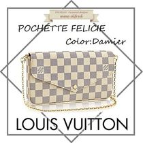 Louis Vuitton(ルイヴィトン)★フェリーチェ・ポシェット ダミエ