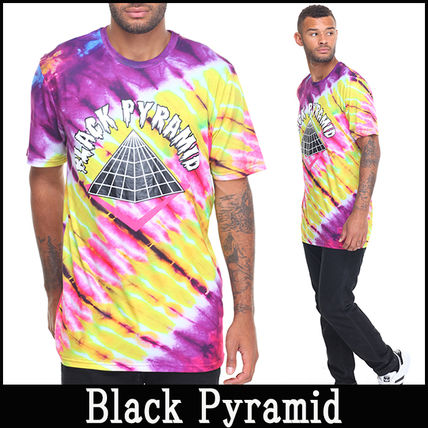 "16-17AW 新作 ""Black Pyramid"" BP Logo TieDye Tシャツ"