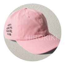 【送料込】Anti Social Social Club WEIRD CAP キャップ Pink
