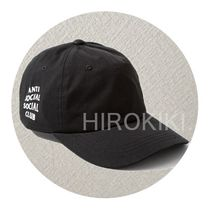 【送料込】Anti Social Social Club WEIRD CAP キャップ Black