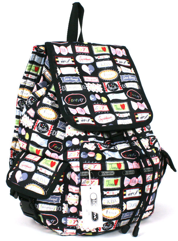 """LeSportsac  US限定 """"SWEET TALK"""" VOYAGER BACKPACK 7839-D742"""