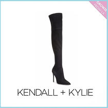 【Kendall + Kylie】ニーハイAyla Suede Over-The-Knee Boots