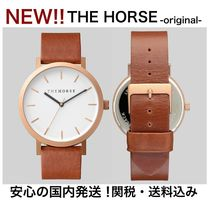 The Horse(ザ・ホース) アナログ腕時計 Newカラー登場!【THE HORSE】国内発送!関税・送料込/本革