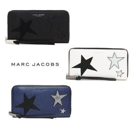 3色のStar Patchwork Leather Continental Walletl☆MARC JACOBS