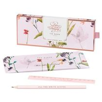 TED BAKER ペンケースセット☆ ORIENTAL BLOOM STATIONERY SET