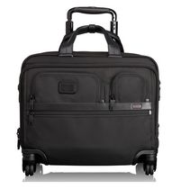 Tumi ★26627 Alpha 2 4 Wheeled Deluxe Brief With Laptop Case