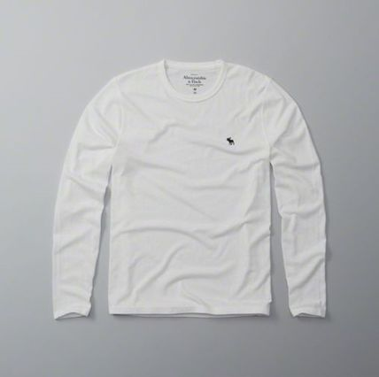 Abercrombie & Fitch Tシャツ・カットソー 本物保証!アバクロAbercrombie&Fitch長袖Tシャツc21