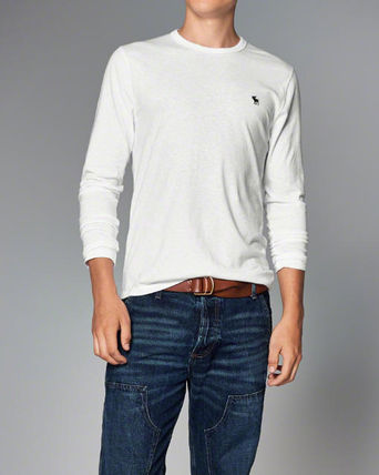 Abercrombie & Fitch Tシャツ・カットソー 本物保証!アバクロAbercrombie&Fitch長袖Tシャツc21(2)