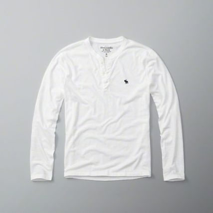 Abercrombie & Fitch Tシャツ・カットソー 本物保証!アバクロAbercrombie&Fitch長袖Tシャツc22