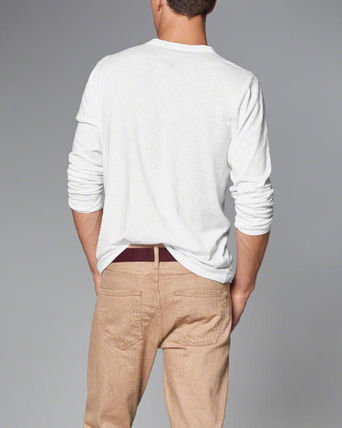 Abercrombie & Fitch Tシャツ・カットソー 本物保証!アバクロAbercrombie&Fitch長袖Tシャツc22(3)