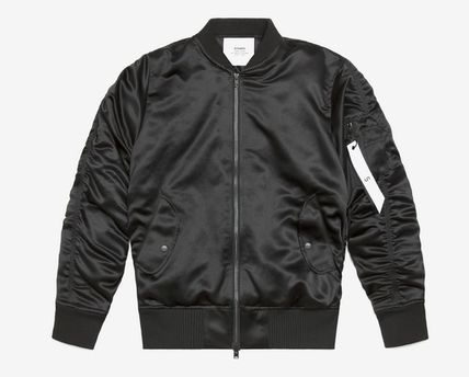 Stampd Charmeuse Bomber Jacket Black