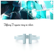 日本未入荷♪【Tiffany & Co】Tiffany T Silver Square Ring