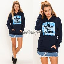 【adidas/originals】Sky Dye Blackbird Hooded Sweatshirt