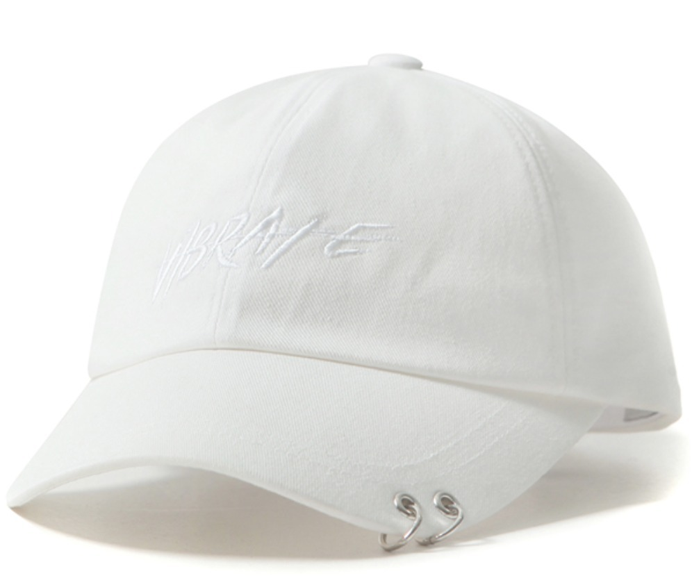 E-girls YURINO愛用★TWIN RING BRUSH LETTERING BALL CAP