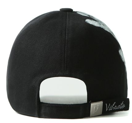 EXOカイ愛用キャップ★BLACK LINE VINTAGE HAND PAINT BALL CAP