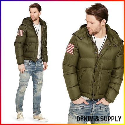 Denim&Supply☆QUILTED RIPSTOP DOWN JACKET 関税/送料込