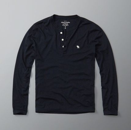 Abercrombie & Fitch Tシャツ・カットソー ★即発送★在庫あり★A&F★LONG SLEEVE ICON HENLEY★(3)
