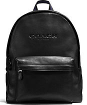 COACH CHARLES BACKPACK IN SPORT CALF LEATHER F54786 黒